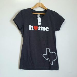 My Home is Texas t-shirt  NWT